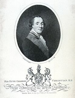 Hugh Cloberry Christian Royal Navy officer during the American War of Independence and the French Revolutionary Wars.