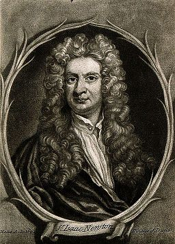 Sir Isaac Newton. Wellcome V0006785EL