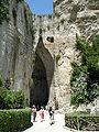Siracusa, neapolis, latomia dell'orecchio di dioniso 01.JPG