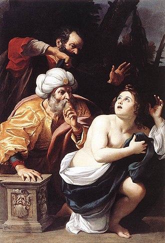 Sisto Badalocchio - Image: Sisto Badalocchio Susanna and the Elders WGA01142