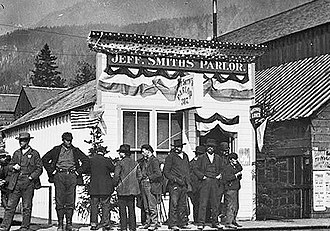 Soapy Smith - 1898, during the Klondike gold rush