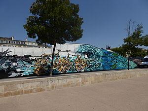 Skate park des Chartrons, Bordeaux, July 2014 (01).JPG
