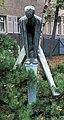 Skulptur Gritznerstr 59 (Stegl) Bockspringer&Alfred Trenkel&1957.jpg