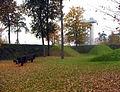 Skulpturenpark Unterpremstaetten Aussichtsturm IGS 2000 (Okt 2005).jpg