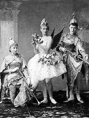 Anna Johansson - Anna Johannson as the Fairy Canari (center) in The Sleeping Beauty