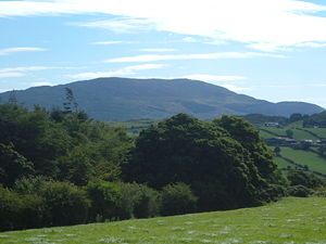 Slieve Gullion - Slieve Gullion from Aughanduff