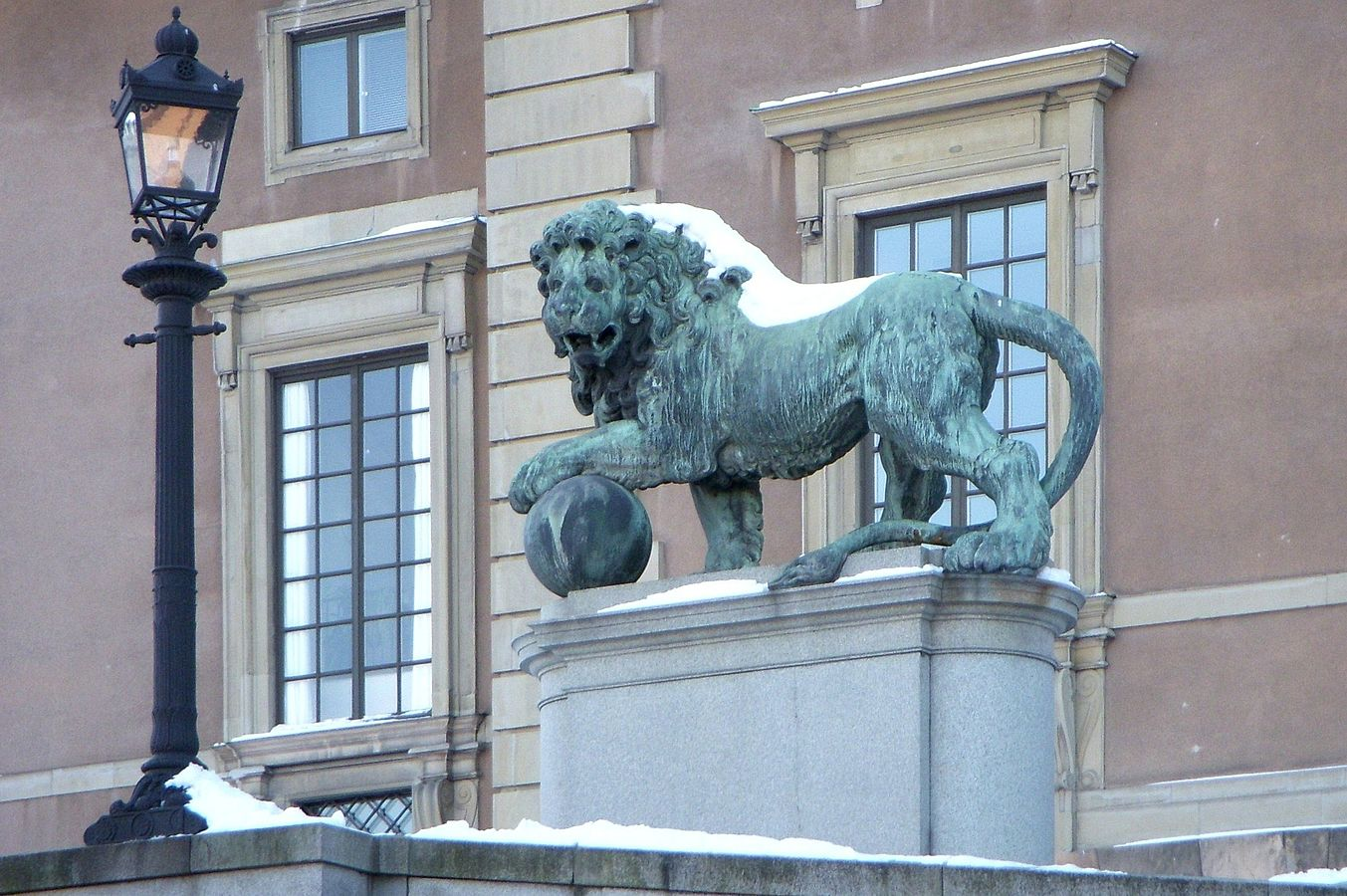 Royal Palace Lions
