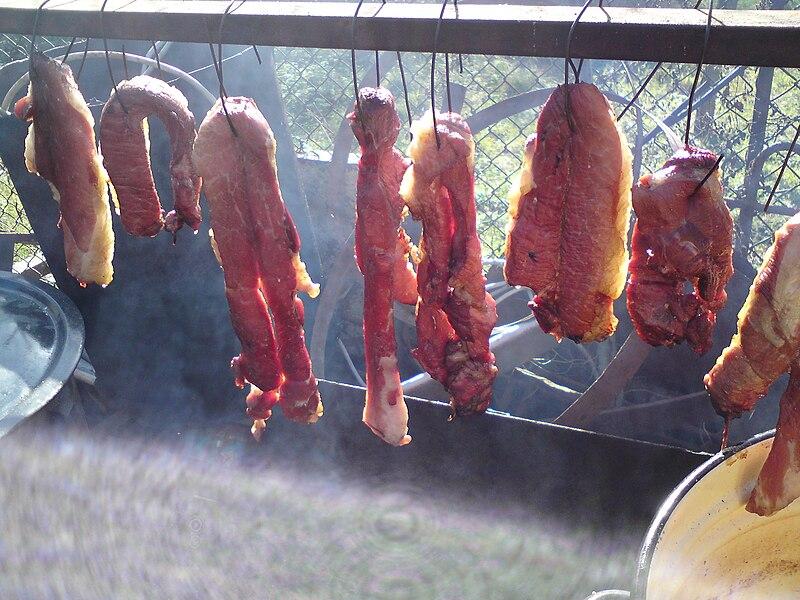 File Smoked Meat Jpg Wikimedia Commons