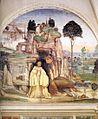 Sodoma - Life of St Benedict, Scene 5 - The Devil Destroys the Little Bell - WGA21568.jpg
