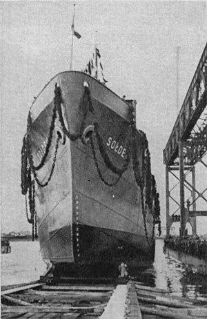 SS Sołdek - Launching of SS Sołdek