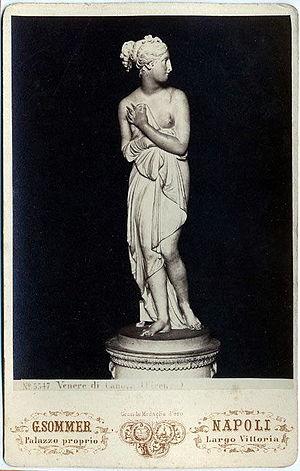 William Horn - Image: Sommer, Giorgio (1834 1914) n. 5547 Venere di Canova (Firenze)