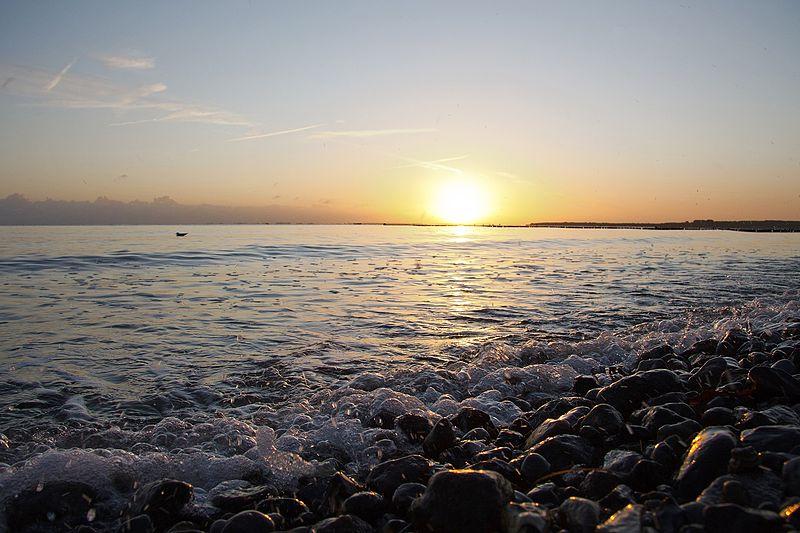 File:Sonnenaufgang am Meer (10577698014).jpg