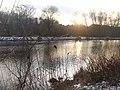 Sonnenuntergang am Teltowkanal (Sunset on the Teltow Canal) - geo.hlipp.de - 32142.jpg