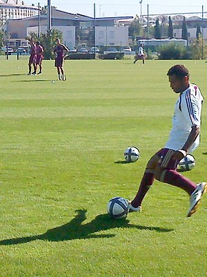 Sonny Anderson - Anderson training with Lyon in 2010