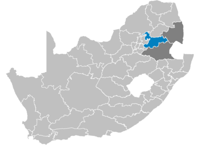South Africa Districts showing Nkangala.png