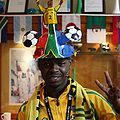 South Africa fan at World Cup 2010-06-11.jpg