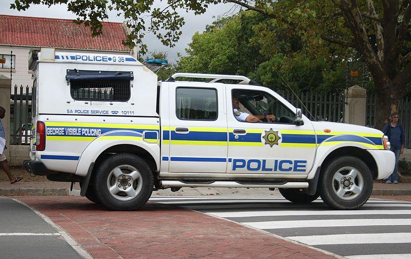South African Police Nissan Hardbody patrol vehicle (16489176428).jpg