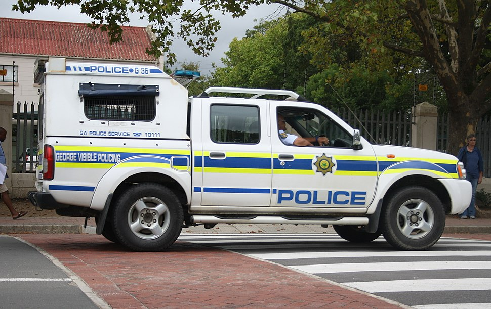 South African Police Nissan Hardbody patrol vehicle (16489176428)
