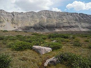 South Kings Peak mountain in Utah, United States of America