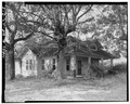 Southeast view - Shadinger-Leavell House, US 27 and State Route 1, Carrollton, Carroll County, GA HABS GA,23-CAROL.V,3-5.tif