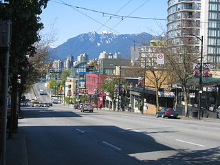 South Granville Rise Neighbourhood in Vancouver, British Columbia, Canada