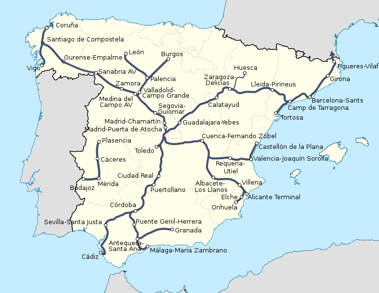 Archivo:Spain High Speed Rail.svg