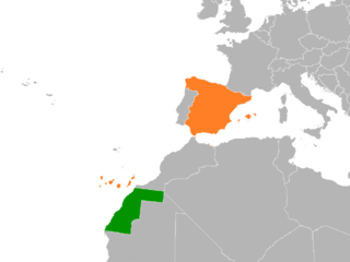 Diplomatic relations between Sahrawi Arab Democratic Republic and the Kingdom of Spain