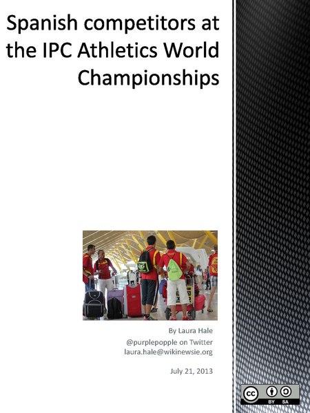 File:Spanish competitors at the IPC Athletics World Championships.pdf