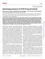 Spatiotemporal pattern of COVID-19 spread in Brazil.pdf