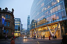 Image result for manchester town centre