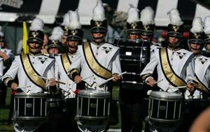 "Dynamite (fight song) - The Spirit of Gold Marching Band plays Vanderbilt's fight song, ""Dynamite"""