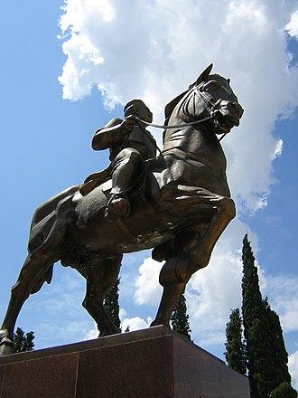 Podgorica - King Nikola I monument