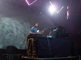 Squarepusher (Tom Jenkinson) in 2005.