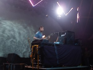 Squarepusher - Tom Jenkinson performing at Glade Festival in 2005