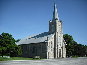 Anderson County, Kansas - St. Boniface Catholic Church in Scipio.