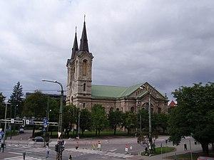 Tõnismägi - Image: St. Charles's Church, Tallinn 2009