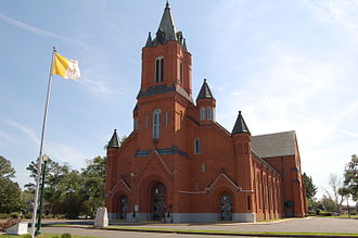 Opelousas, Louisiana - Saint Landry Catholic Church