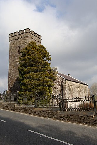 Llannon - St Non's church