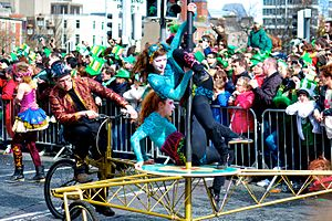 Culture of Ireland - St. Patrick's Day parade in Dublin