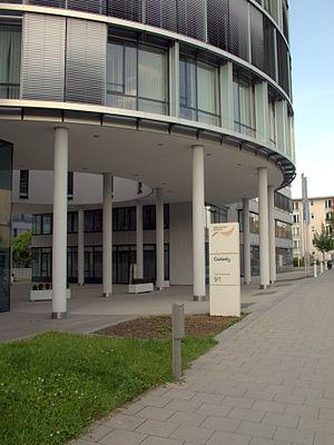 Coriant - Munich: Campus St. Martin St. - South Entrance (Werinher St.91)