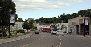 St. Ignace, Michigan - Downtown St. Ignace