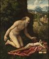 St Jerome (Cesare Bernazzano & Cesare da Sesto) - Nationalmuseum - 19555.tif