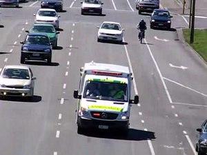 File:St John ambulance, Dunedin, New Zealand.ogv