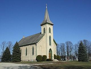 St. John of God Roman Catholic Church, Convent, and School United States historic place