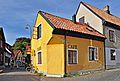 St Klemens 6, Café Gula huset, Tranhusgatan 2, Smedjegatan 1, Visby, Gotland.jpg