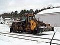 St Lawrence & Atlantic snowplow opposite South Paris station, January 2017.JPG