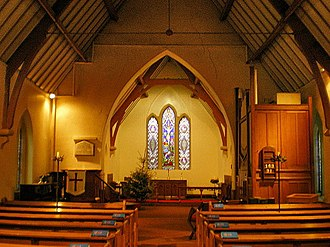 Norland, West Yorkshire - Image: St Luke's Parish Church, Norland, Interior geograph.org.uk 1117738