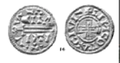St Martin of Lincoln silver penny c.916 A.D.png