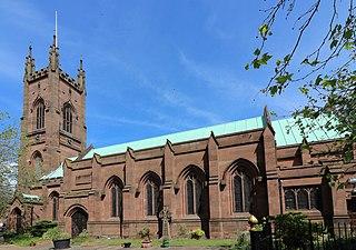 St Marys Church, Walton-on-the-Hill Church in Merseyside, England