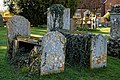 St Mary's Church, Great Canfield, Essex ~ churchyard table tombs.jpg